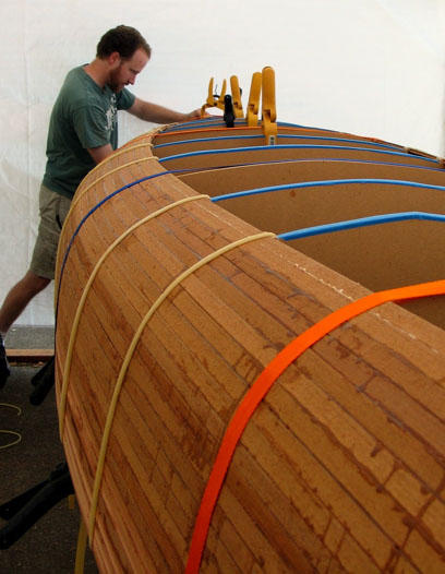 Building a Cedar Strip Canoe
