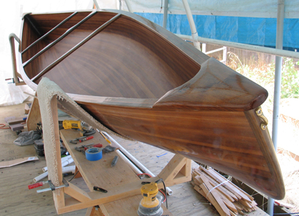 Canoe Interior Varnish ...