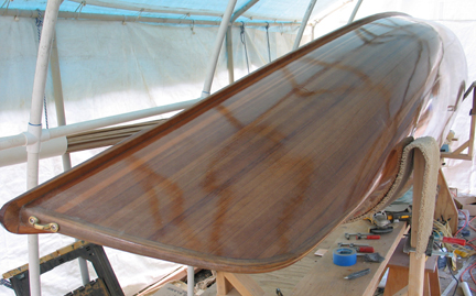 Canoe Exterior Varnish
