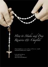 The Rosary Shop -- Custom rosaries, kits, parts and kneelers