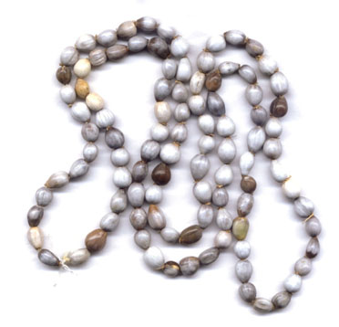 Bulk Wood and Plastic Rosary Beads: Job's Tear Strands