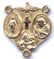 Rosary Centers : Solid Gold: Combination Size 5 14kt