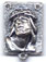 Rosary Centers : Silver Colored: Ecce Homo SP