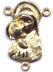 Rosary Centers : Solid Gold: Mary and Child Size 6 14kt*