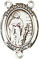 Rosary Centers : Sterling Silver: St. Susanna SS Rosary Center