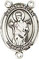 Rosary Centers : Sterling Silver: St. Aedan of Ferns SS Center