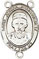 Rosary Centers : Sterling Silver: St. Joseph Freinademetz SS Ctr