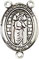 Rosary Centers : Sterling Silver: St. Matthias the Apostle SS Ct