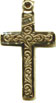 Rosary Crosses : Solid Gold: Inlaid 14KT*