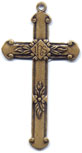 Rosary Crosses : Gold Colored: IHS GP