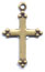 Rosary Crosses : Gold Colored: Small GP