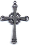 Rosary Crosses: Scroll Cross (Size 5) OX
