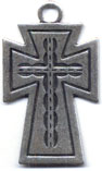 Crosses for Necklaces: Bold Cross (Size 5) OX