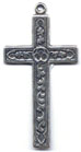 Rosary Crosses: Latin Leaf Cross (Size 5) OX