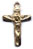 Rosary Crucifixes : Solid Gold: Basic (Size 2) 14kt*