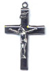 Rosary Crucifixes : Sterling Silver: Basic (Size 5) SS