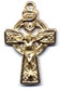 Rosary Crucifixes : Solid Gold: Celtic (Size 3) 14kt*
