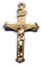 Rosary Crucifixes : Gold Filled: Classic (Size 4) GF*
