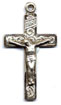 Crucifixes for Necklaces: Inlaid (Size 4) SS