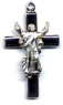 Rosary Crucifixes : Sterling Silver: Risen Christ (Size 4) SS