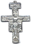 Crucifixes for Necklaces: SanDamiano (Size 7) SS