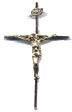 Rosary Crucifixes : Gold Filled: Straight (Size 5) GF*