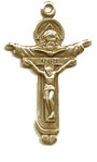 Crucifixes for Necklaces: Trinity (Size 5) GP
