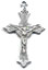 Rosary Crucifixes : Silver Colored: Bracelet Crucifix (Size 2) NS