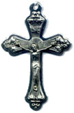 Crucifixes for Necklaces: Glory Rays Crucifix Size 5
