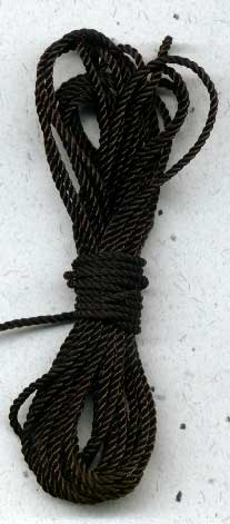 Findings : Cord: Cord - Black 1/5kg Spool