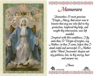 Holy Cards: Coronation of Mary