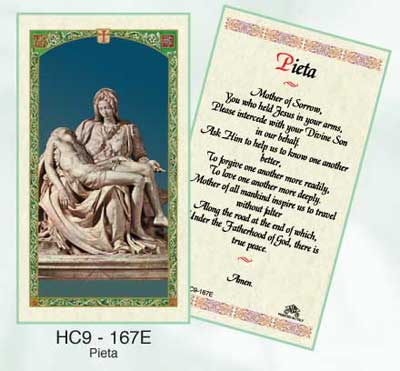 Holy Cards: The Pieta