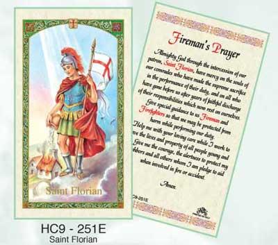 Holy Cards: Florian