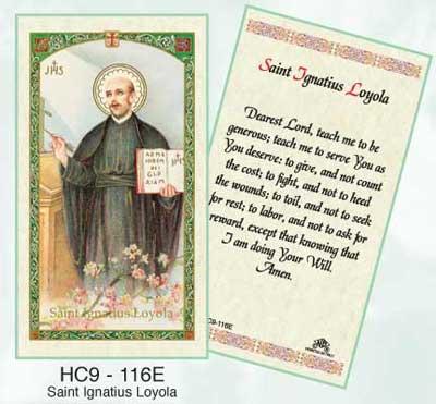 Holy Cards: Ignatius