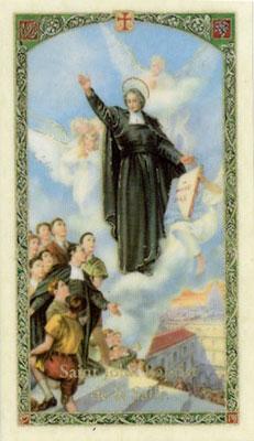 Holy Cards: John Baptist de la Salle