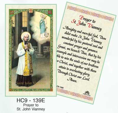 Holy Cards: John Vianney