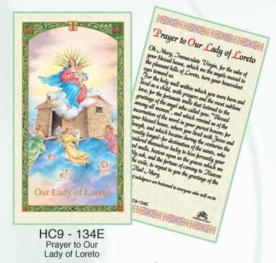 Holy Cards: Our Lady of Loreto