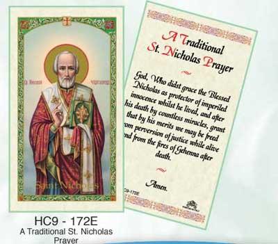 Holy Cards: Nicholas