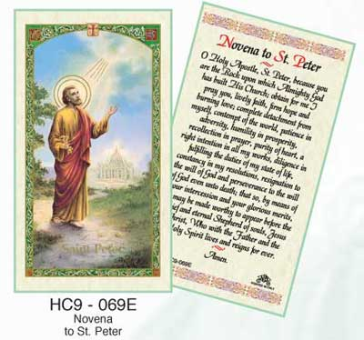 Holy Cards: Peter
