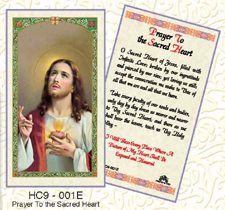 Holy Cards: Cons. to the Sacred Heart