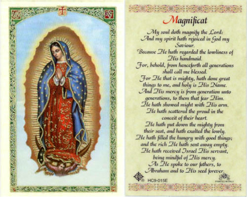 Holy Cards: Our Lady of Guadalupe Card
