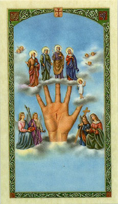 Holy Cards: Nov. to the Most Powerful Hand