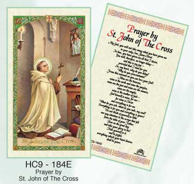 Holy Cards: St. John of the Cross