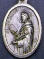 Items related to St. Francis de Sales: St. Dominic de Guzman OX Medal