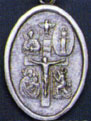 Religious Medals: 4-Way Cross/I Am Catholic