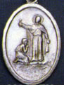 Religious Saint Holy Medal : All Materials: St. Francis Xavier OX Medal