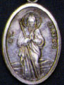 Religious Medals: St. James OX Saint Medal