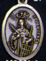 Holy Saint Medals: St. Lawrence OX Saint Medal