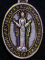 Religious Saint Holy Medal : Silver Colored: Our Lady of Medjugorje OX Mdl