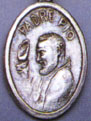 Religious Saint Holy Medal : Silver Colored: St. Padre Pio OX Saint Medal